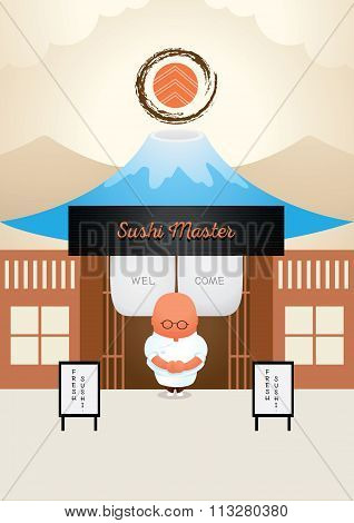 Master Japanese Sushi Welcome