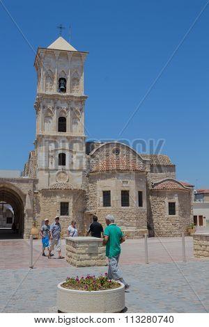 Larnaca, Cyprus – June 26, 2015:  Church Of Saint Lazarus, Larnaca, Cyprus.