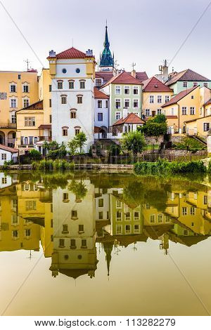 Colorful Houses-jindrichuv Hradec,czech Republic