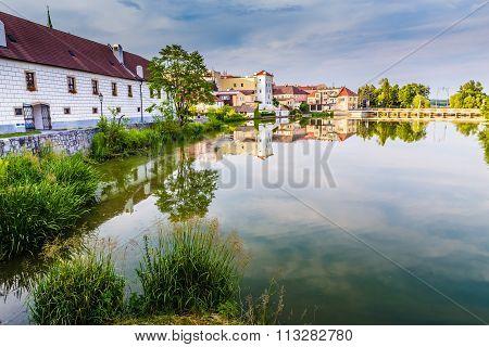 View Of Jindrichuv Hradec Castle-czech Republic