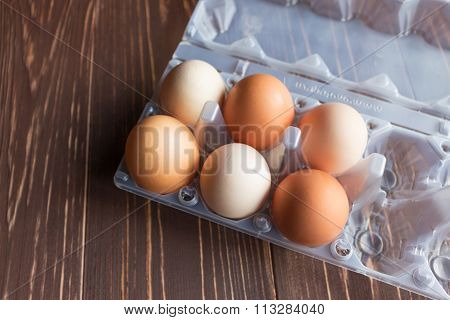 eggs lay in cells