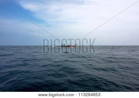 boat against sea