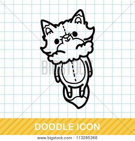 Fox Doll Doodle