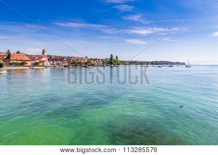 City Of Meersburg,lake Constance,germany,europe