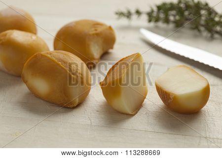 Smoked italian baby mozzarella