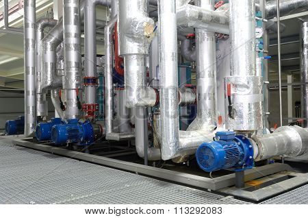 Refrigeration System On A Storehouse