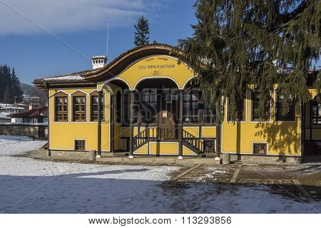 old school, a mid-19th century building in Koprivshtitsa