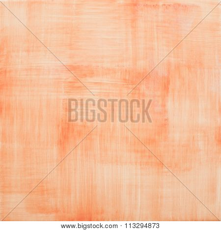 Endless Texture Of Atomic Tangerine Orange Color
