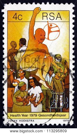 Postage Stamp South Africa 1979 Health Care And Service