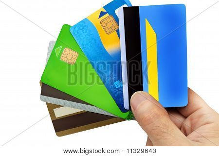 the five credit cards