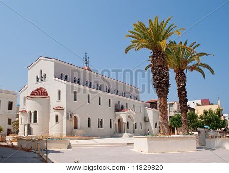 Church In Rethymnon
