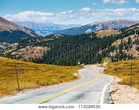 Highway 82 Independence Pass