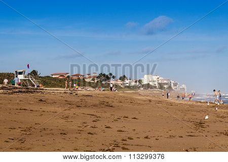Jensen Beach Scenic At Daytime
