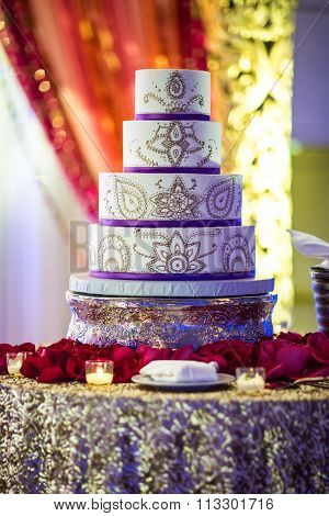 Beautiful Indian Wedding Cake
