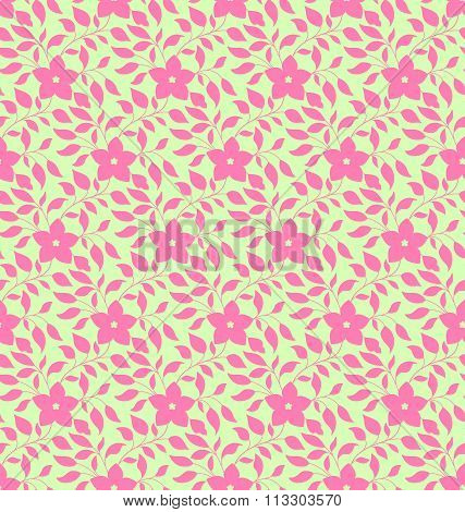 Seamless Pattern In Traditional Vintage Asian, Chinese Style
