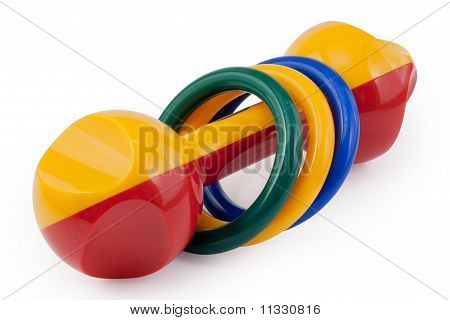 Colored Rattle