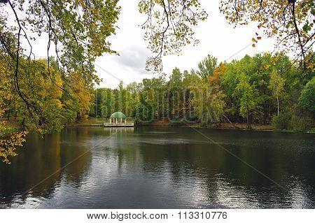 Pavilion On The Pond
