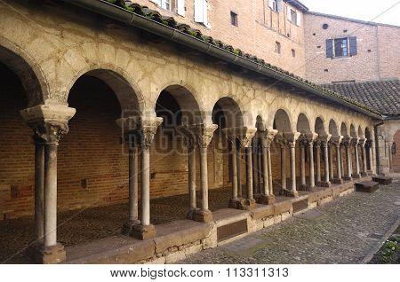 Cloister Albi Tarn, France