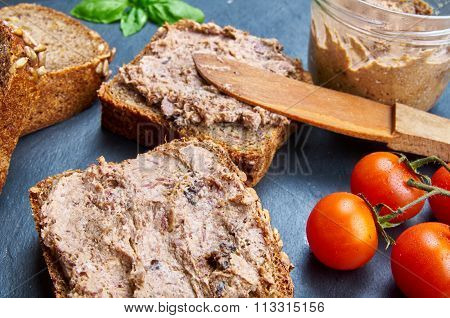 Bread With Pate