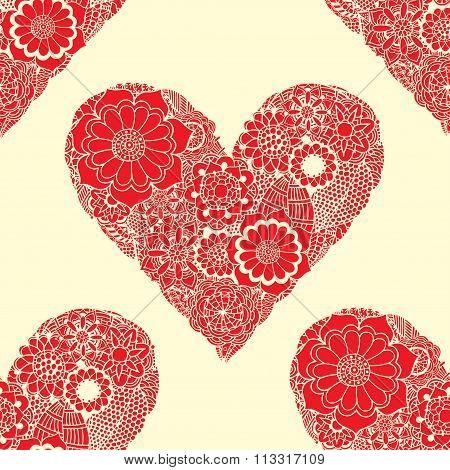 Doodle Heart Swirls