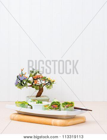 Spring Rolls Vegetarian