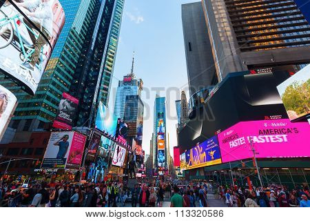 Times Square in Manhattan, NYC