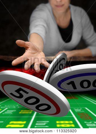 poker casino player