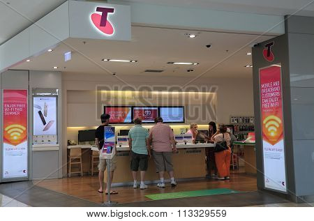 Telstra mobile phone shop Australia