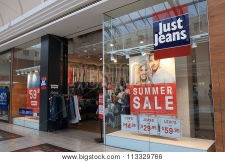 Just Jeans clothes shop Australia