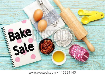 Bake Sale Background