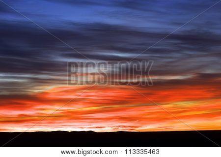 Sunrise in Sahara Desert, Africa