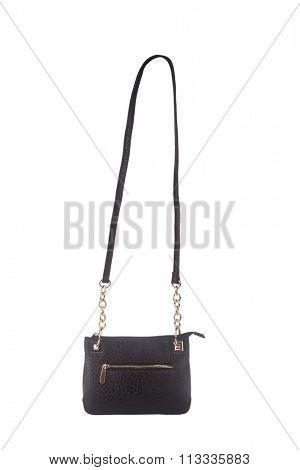 Female purse isolated on white