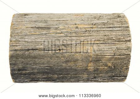 wooden sign board isolated on whi