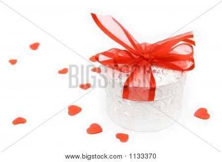 Valentine Geschenk-box
