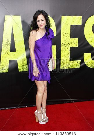 LOS ANGELES, CALIFORNIA - June 25, 2012. Mary-Louise Parker at the Los Angeles premiere of 'Savages' held at the Mann Village Theatre, Los Angeles.