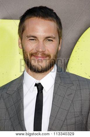 LOS ANGELES, CALIFORNIA - June 25, 2012. Taylor Kitsch at the Los Angeles premiere of 'Savages' held at the Mann Village Theatre, Los Angeles.