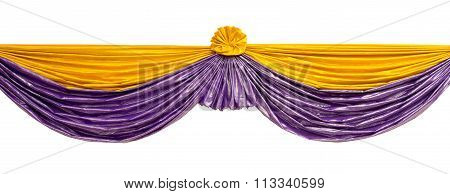 Fabric Stage Drapes