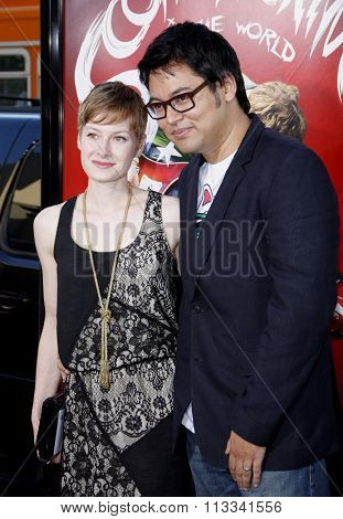 Bryan Lee O'Malley at the Los Angeles Premiere of