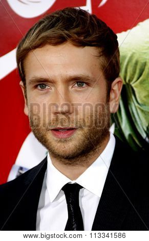 Mark Webber at the Los Angeles Premiere of