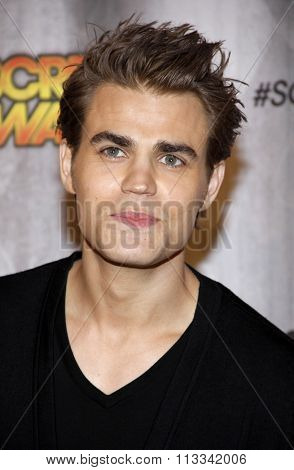 Paul Wesley at the Scream Awards 2011 held at the Universal Studios Backlot in Universal City, USA on October 15, 2011.