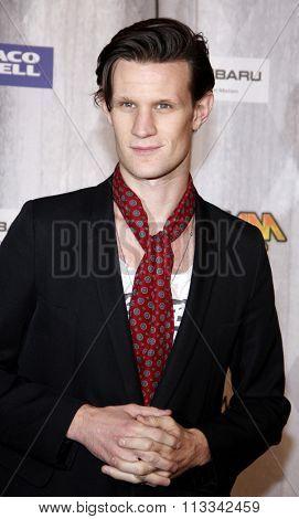 Matt Smith at the Scream Awards 2011 held at the Universal Studios Backlot in Universal City, USA on October 15, 2011.