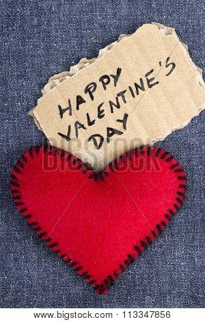 elt hearts and cardboard plaque
