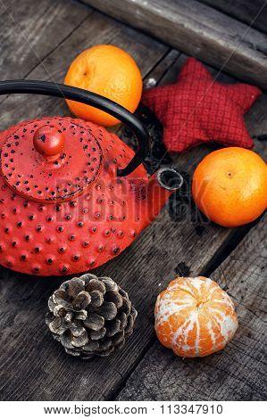 Warming Tea With Tangerine