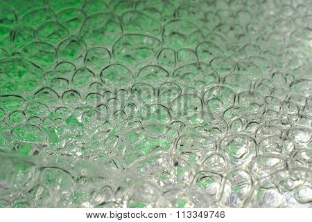 Abstract image  of water bubbles