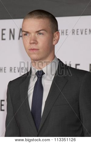LOS ANGELES - DEC 16:  Will Poulter at the