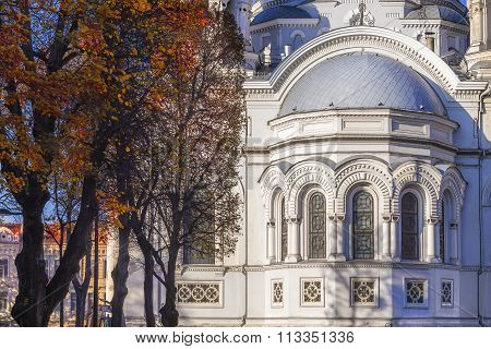 Kaunas, Lithuania: Cathedral Of St. Michael The Archangel.