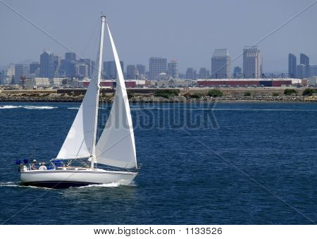 Sailing In San Diego, California