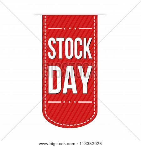 Stock Day Banner Design