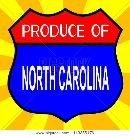 Produce Of North Carolina