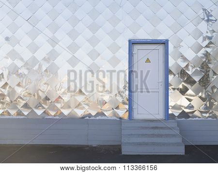Metal Wall Panel With Door